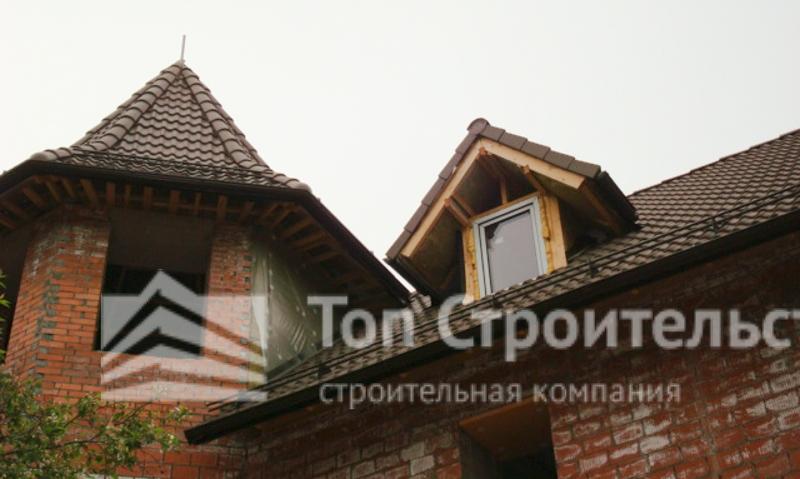 Цементно-песчаная черепица для частного дома фото