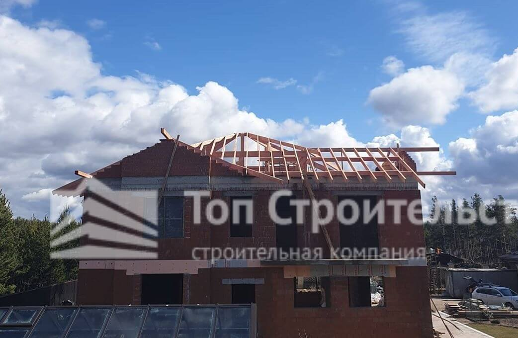 ремонт крыши фото